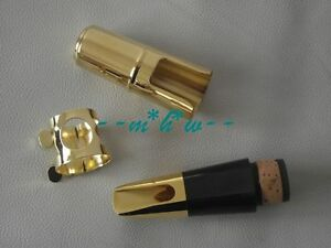 Excellence Bb Clarinet Metal mouthpiece ligature and cap #6 good sound