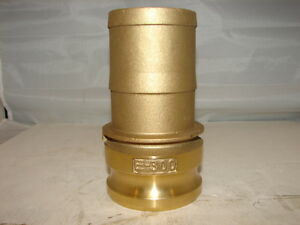 DIXON E 300 BRASS 3quot; BRASS CAM LOCK AND GROOVE ***NNB*** $17.99