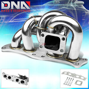T304 Stainless Steel 3s gte T3 t4 Celica mr2 Turbo Manifold Turbocahrger Boost