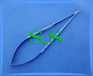 Castroviejo Needle Holder 8 Straight Without Lock Titanium Surgical Instruments
