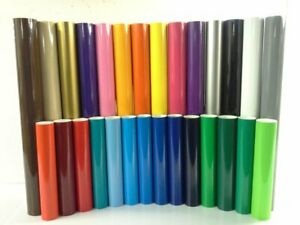 24 Sign Vinyl 7 Rolls 10 ea 40 Colors American Mfg By Precision62