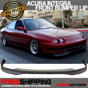 Fits 94 97 Acura Integra Dc2 Jdm Style Front Bumper Lip Spoiler Unpainted Pp