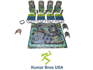 New Aftermarket Bobcat 331 Overhaul Kit Std Kubota V2203