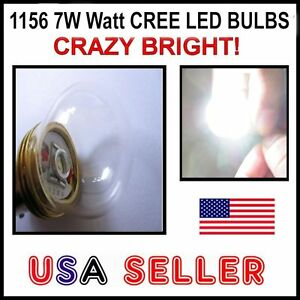 1156 7w Hid Bright Cree Led Backup Reverse Singal Turn Light P21w Ba15s Hid Nice