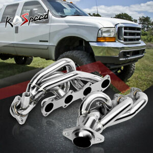 5 4 330 Stainless Steel Header Exhaust 97 01 Ford F150 f250 expedition V8 8cyl