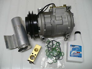 1996 2000 Dodge Caravan Grand Caravan 3 0l New A C Ac Compressor Kit