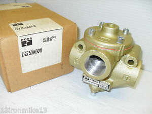 New In Box Ross D2753a6011 3 way Pneumatic Air Control Valve