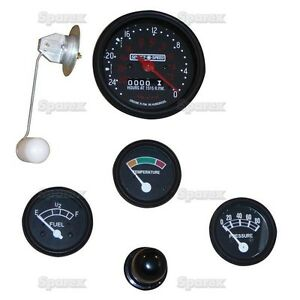 New Ford Tractor Instrument Gauge Kit 6v Select o speed 2000 601 And 701