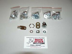 Vendstar 3000 0197 5 Back Door Locks 1 Key New Free Ship