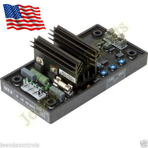 New Avr Automatic Voltage Regulator R230 Electronics Module For Leroy Somer