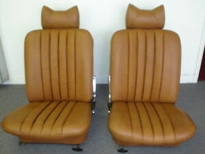 Mercedes Benz Seat Covers For W113 Pagoda 230sl 250sl 280sl Leather