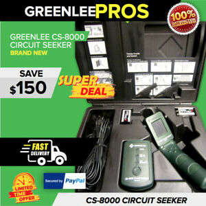 Greenlee Cs 8000 Circuit Seeker New In Original Case never Used Fast Ship