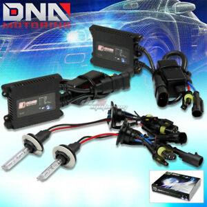 Dt 9006 10000k Blue Xenon Hid Low Beam Headlight Bulb slim Ac Ballast Kit Olds