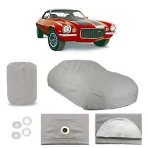 Chevy Camaro 5 Layer Car Cover Outdoor Water Proof Rain Snow Sun Dust 2nd Gen