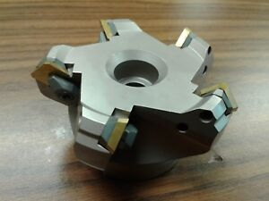 3 45 Degree Indexable Face Shell Mill face Milling Cutter W sean42aftn new