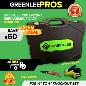 Greenlee 7310 Original Replacement Case 1 2 4 Brand New Fast Ship