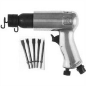 Standard Duty Air Hammer Kit With 5 Chisels Irt116k Brand New