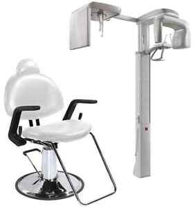 X ray Dental Chair black White
