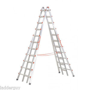 Little Giant 21 Skyscraper Mxz Stepladder Big Tall Ladder 10121