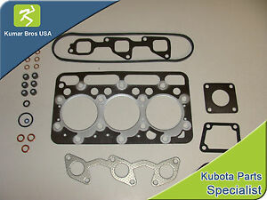New Kubota D1403 Upper Gasket Kit