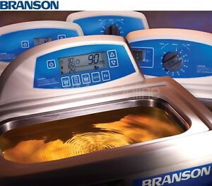 Branson M2800 0 75 Gal Ultrasonic Cleaner W 60 Minute Mech Timer Cpx 952 216r