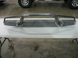 1984 2001 Jeep Cherokee Xj Comanche Front Bumper With Prerunner Bars