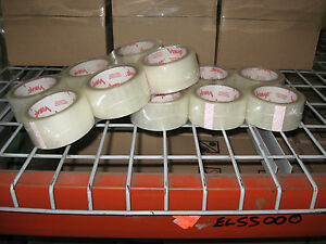 12 Rolls Vibac 3 0 Mil 2 Clear Packaging Tape Ships Free