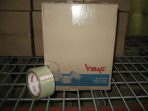 36 Rolls Vibac 3 0 Mil 2 Clear Packaging Tape Ships Free