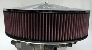 Dual Impco 425 Air Cleaner Filter Heavy Duty Aluminum Mount High Flow K