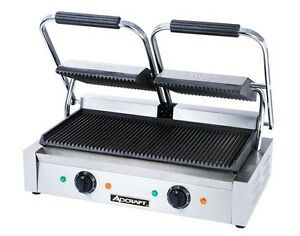 Adcraft Double Panini Grill 120 Volt Excellent Value