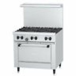 Garland 6 Burner Range X36 6r Sunfire Stainless Steel Great Value