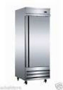 Serv ware Rr 1 Refrigerator Single Door Reach in Stainless Value Quality
