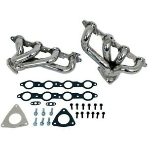 2001 2002 Chevy Camaro Trans Am Ls1 5 7l Bbk Chrome 1 3 4 Short Tube Headers