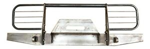1984 2001 Jeep Cherokee Xj Comanche Front Brush Guard Bumper With Winch Plate