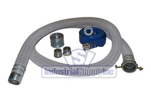 2 Flex Mud Trash Pump Suction Hose Camlock Kit W 50 Discharge Hose