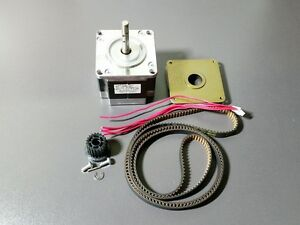 Nema 23 Stepper 24v 2a Motor Mill Robot Lathe Reprap Pulley 41 Timing Belt