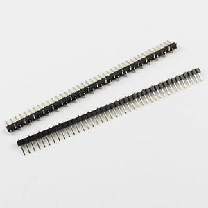 200pcs 2mm Pitch 40 Pin Male Single Row Smt Pin Header Strip