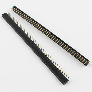 200pcs 2mm Pitch 40 Pin Female Single Row Right Angle Pin Header Strip