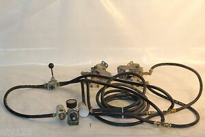Aro Valve Two System Air Pneumatic Control Pedals