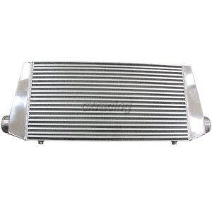 Universal 36x13 5x4 3 Inlet outlet Turbo Intercooler For Supra 7mgte Mk3