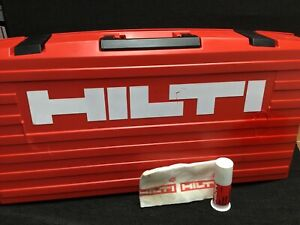 Hilti Te 905 Avr Case only Case Preowned Free Hilti Grease Fast Ship