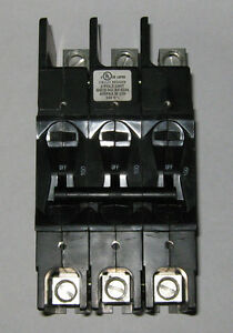1 Pc Airpax Lr26229 Circuit Breaker 100 Amp 240 Volt 3 Pole New