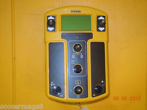 Trimble Cb410 Laser Grade Machine Control Box Trimble 410 Cat