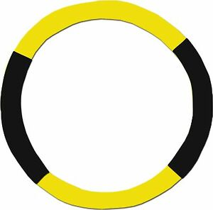 Yellow Black Steering Wheel Cover Like Seat Covers Or Choose Colors