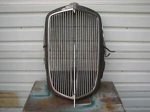 1932 1933 Nash Grille Grill Ambassador Advanced Eight 1930 1931 1934 1935