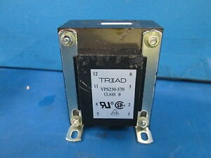 Triad Magnetics Power Transformer Chassis Mount Model No Vps230 570