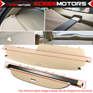 Fit 02 06 Honda Crv Cr V Oe Style Beige Security Rear Cargo Trunk Cover