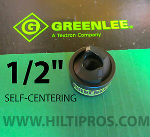 Greenlee 1 2 14722 Slug buster Sc self Centering Knockout Brand New