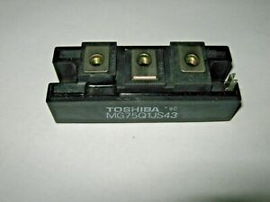 Toshiba Transistor Module Mg75q1js43 75a 1200v Used