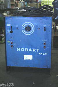 Hobart Arc Welder Model Tr 250